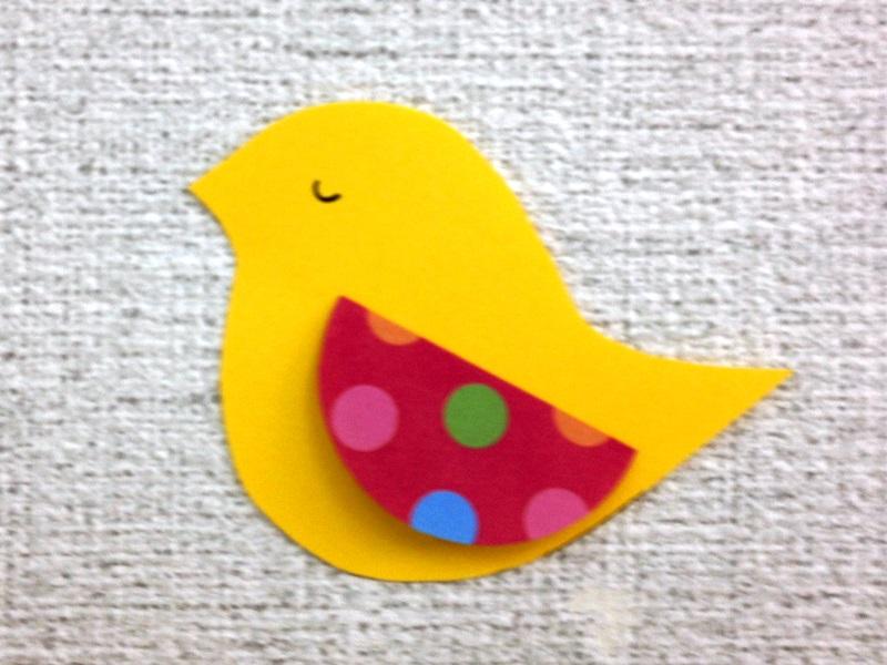 小鳥 壁面 保育